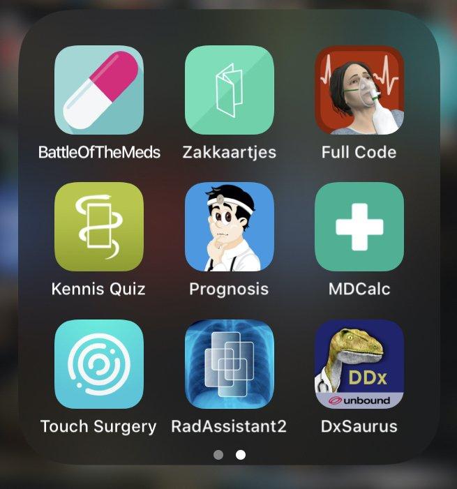 Screenshot medische aps