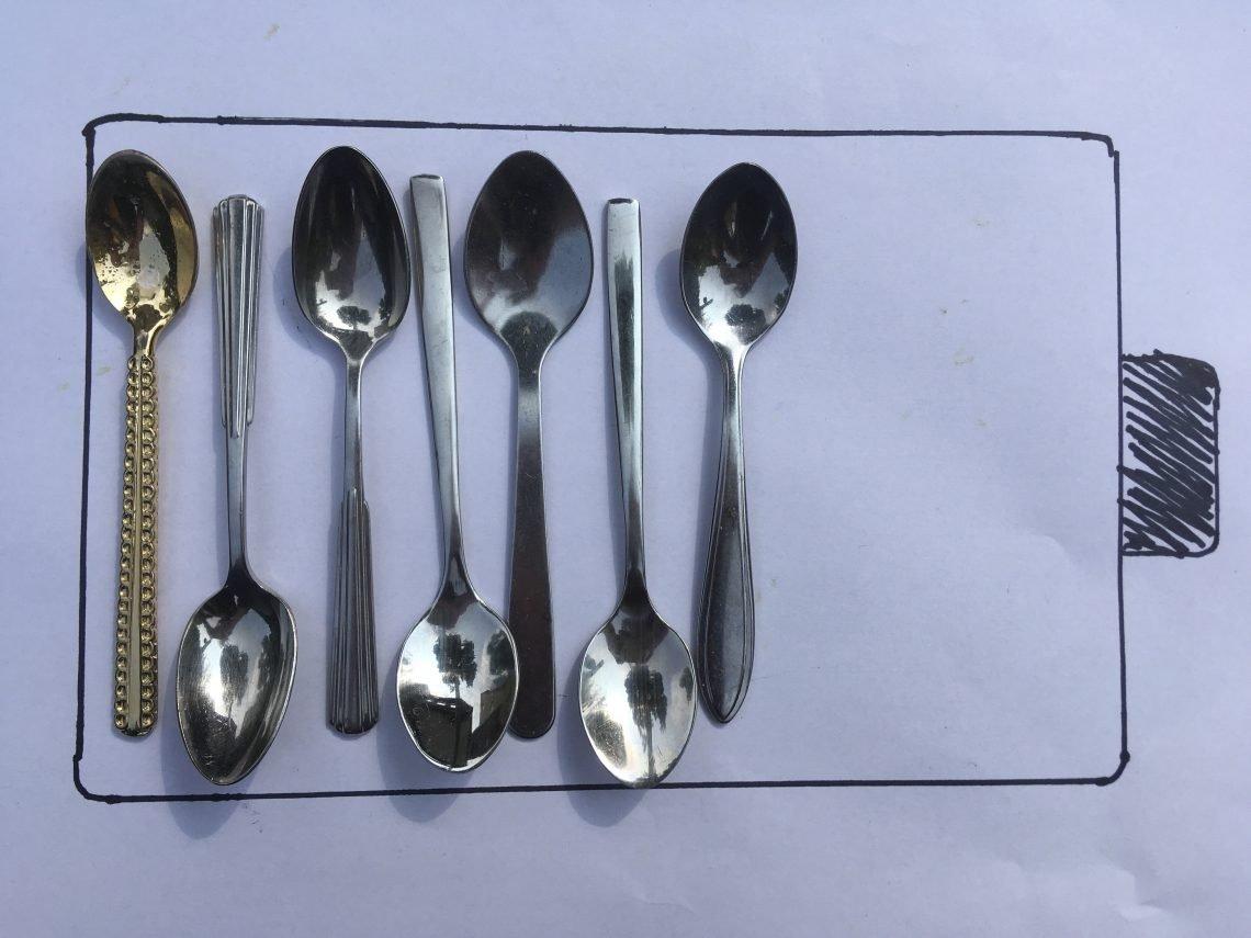 lepeltjestheorie, spoon theory